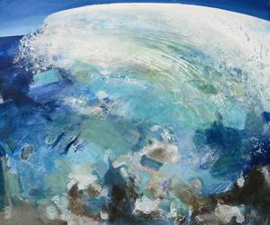 Malerei von Britta Naumann, serielle Malerei, Grosse Woge