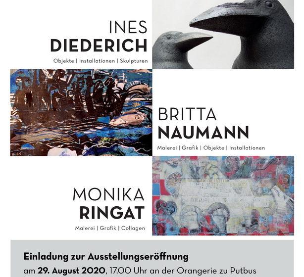 """Ausstellung """"Dreiklang"""" in der Orangerie zu Putbus"""